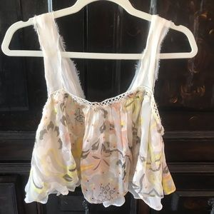Free people crop top size small